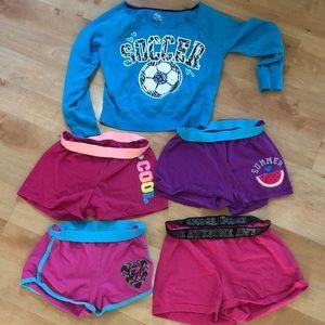 Girls size 10/12 clothing bundle